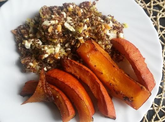 Quinoa se zeleninou a dýní Hokkaido - dietní jednoduchý recept vhodný pro vegetariány