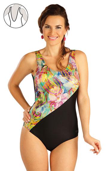 Jednodílné plavky s košíčky. Litex akce sleva Litex 2019