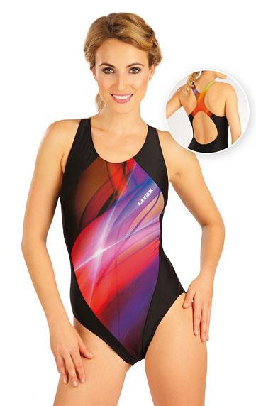 Jednodílné sportovní plavky. Litex akce sleva Litex 2019
