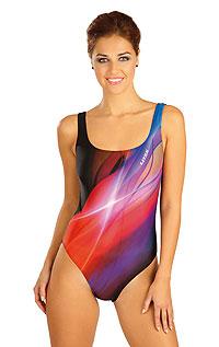 Jednodílné sportovní plavky. Litex