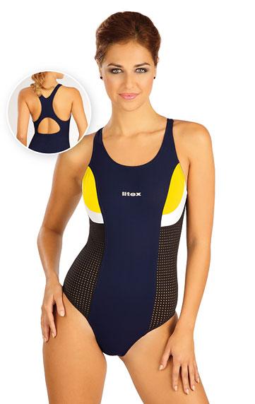 Jednodílné sportovní plavky. akce sleva Litex 2019
