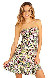 Šaty dámské bez ramínek. Litex