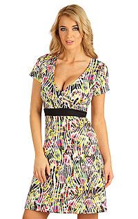Šaty dámské s krátkým rukávem. Litex