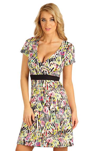 Šaty dámské s krátkým rukávem. Litex akce sleva Litex 2019