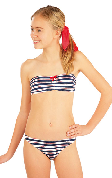 Dívčí plavky podprsenka BANDEAU. akce sleva Litex 2019
