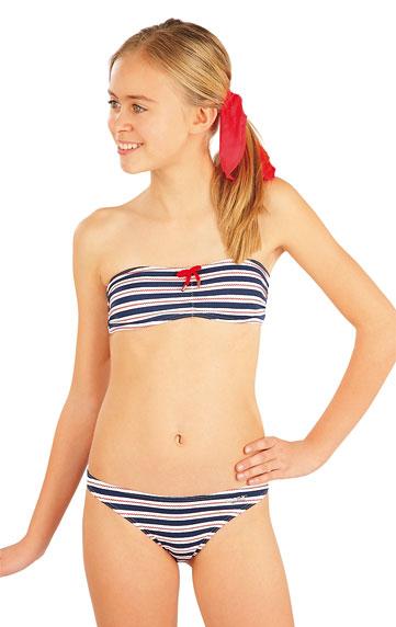 Dívčí plavky kalhotky bokové. akce sleva Litex 2018