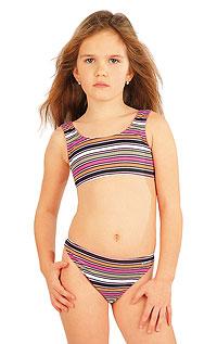 Dívčí plavky kalhotky bokové. Litex