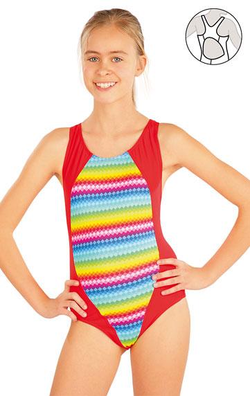 Dívčí jednodílné sportovní plavky. Litex akce sleva Litex 2020
