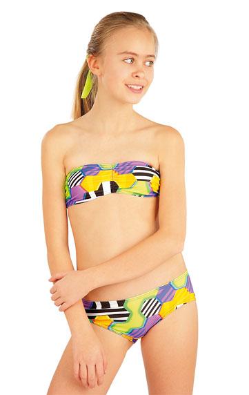 Dívčí plavky podprsenka BANDEAU. akce sleva Litex 2018