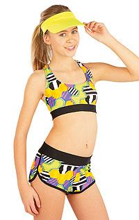 Dívčí plavky sportovní top. Litex