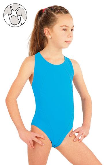 Dívčí jednodílné sportovní plavky. akce sleva Litex 2019