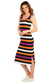 Šaty dámské dlouhé bez rukávu. akce sleva Litex 2020