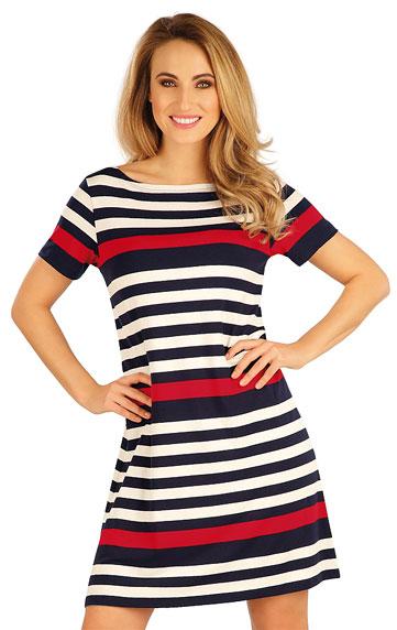 Šaty dámské s krátkým rukávem. akce sleva Litex 2020