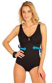 Stahující jednodílné plavky s kosticemi. akce sleva Litex 2020