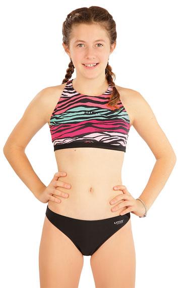 Dívčí plavky kalhotky bokové. akce sleva Litex 2020