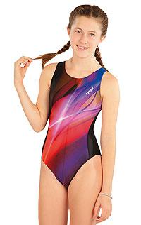 Dívčí jednodílné sportovní plavky. akce sleva Litex 2020