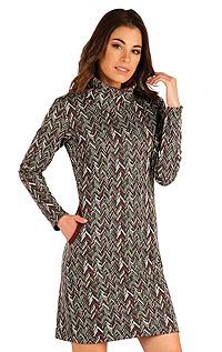 Mikinové šaty s dlouhým rukávem. akce sleva Litex 2020