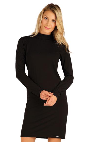 Šaty dámské s dlouhým rukávem. akce sleva Litex 2020