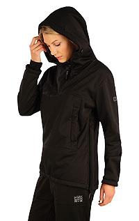 Bunda dámská softshellová s kapucí. akce sleva Litex 2020