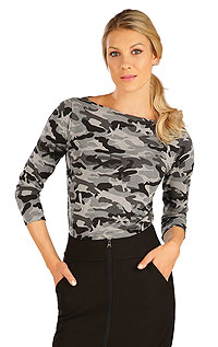Tričko dámské s 3/4 rukávem. akce sleva Litex 2020