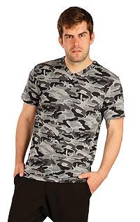 Tričko pánské s krátkým rukávem. akce sleva Litex 2020