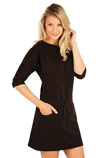 Šaty dámské s 3/4 rukávem. akce sleva Litex 2020