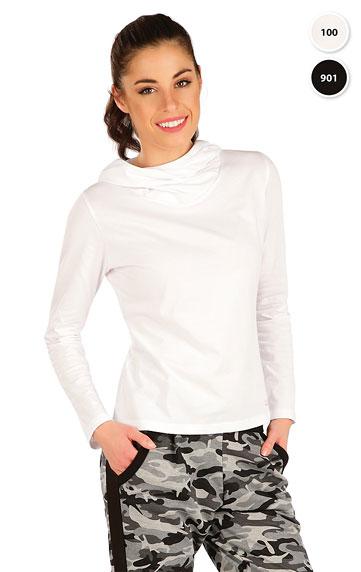 Tričko dámské s překříženou kapucí. akce sleva Litex 2020