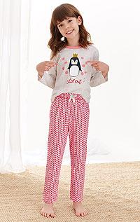 Pyžamo dívčí. akce sleva Litex 2020