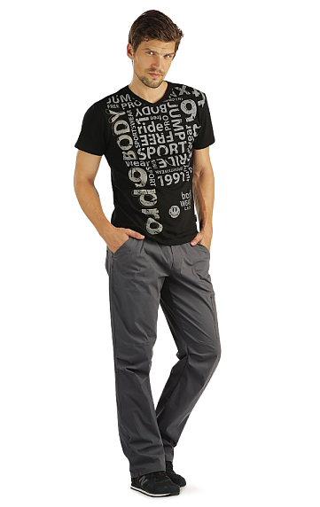 Kalhoty pánské dlouhé. Litex akce sleva Litex 2020
