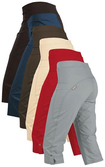 Kalhoty dámské bokové v 3/4 délce. Litex akce sleva Litex 2020