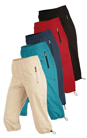 Kalhoty dámské v 3/4 délce do pasu. Litex akce sleva Litex 2020