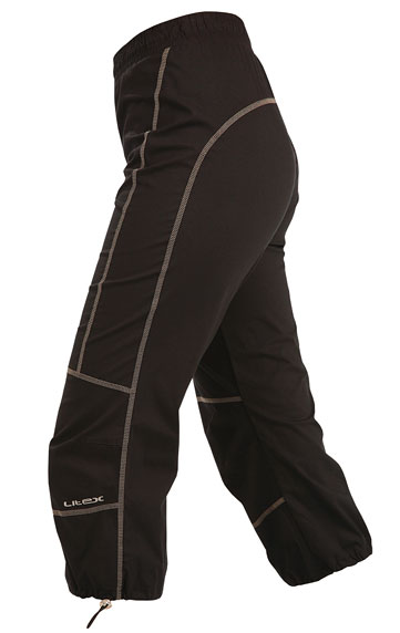 Kalhoty dámské v 7/8 délce do pasu. Litex
